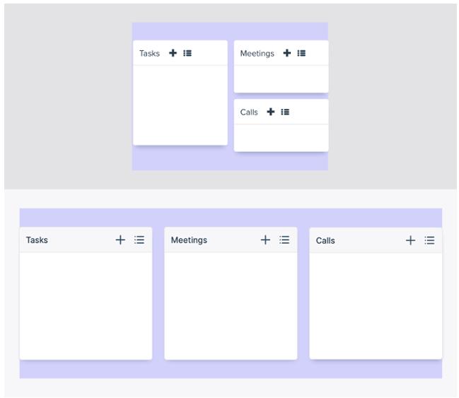 teamleader dashboard design