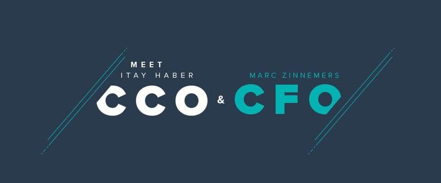 Itay Haber (CCO) und Marc Zinnemers (CFO) werden Teil der Geschäftsführung von Teamleader