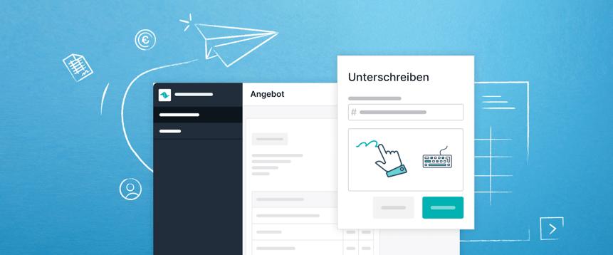 Angebote werden mit Teamleader doppelt so schnell unterzeichnet – dank dem verbesserten Cloudsign.